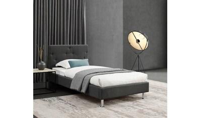 INOSIGN Polsterbett »Desna«, gepolstertes Kopf- und Fussteil, in 3 Breiten kaufen