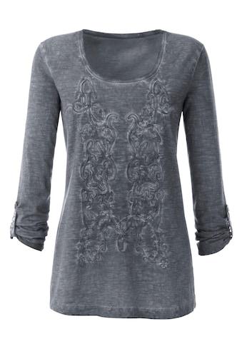 Ambria Shirt mit Ärmel zum Krempeln kaufen