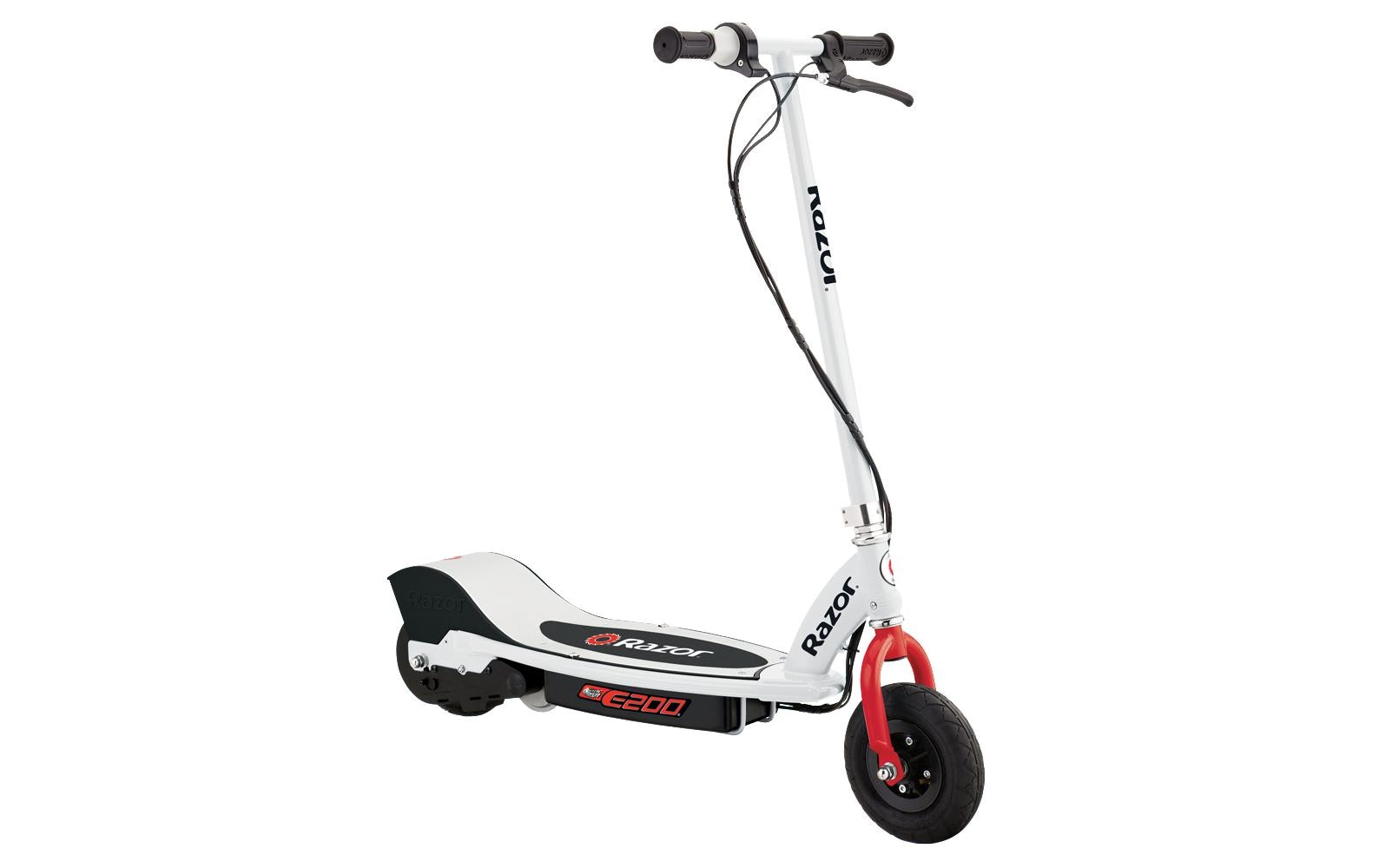 Image of Electric Scooter, Razor, »E200 Weiss / Rot«
