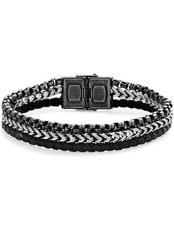 XENOX Armband »LEATHER & MORE, X4533« kaufen