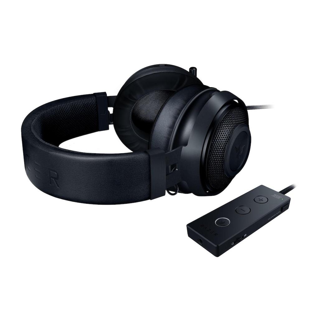 RAZER Gaming-Headset »Kraken Tournament Edition Schwarz«, Noise-Cancelling-Rauschunterdrückung