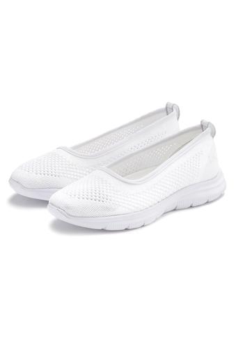 LASCANA Ballerina, ultraleichter Sneaker aus leichtem Mesh mit weicher Innensohle kaufen