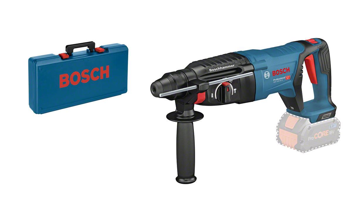 Image of Akku-Bohrhammer, Bosch Professional, »GBH 18V-26 D Solo Koffer + Zubehör«