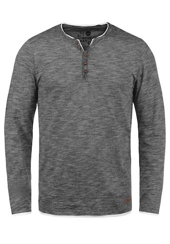 Solid Longsleeve »Belagos«, Langarmshirt im Double-Layer Look kaufen
