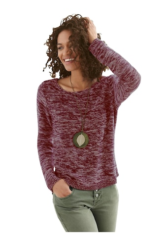 Casual Looks Pullover, hinten länger geschnitten kaufen