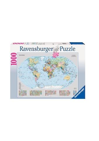 Ravensburger Puzzle »Politische Weltkarte« kaufen