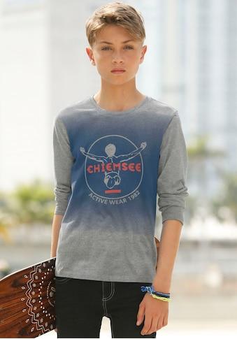 Chiemsee Langarmshirt, mit Farbverlauf kaufen