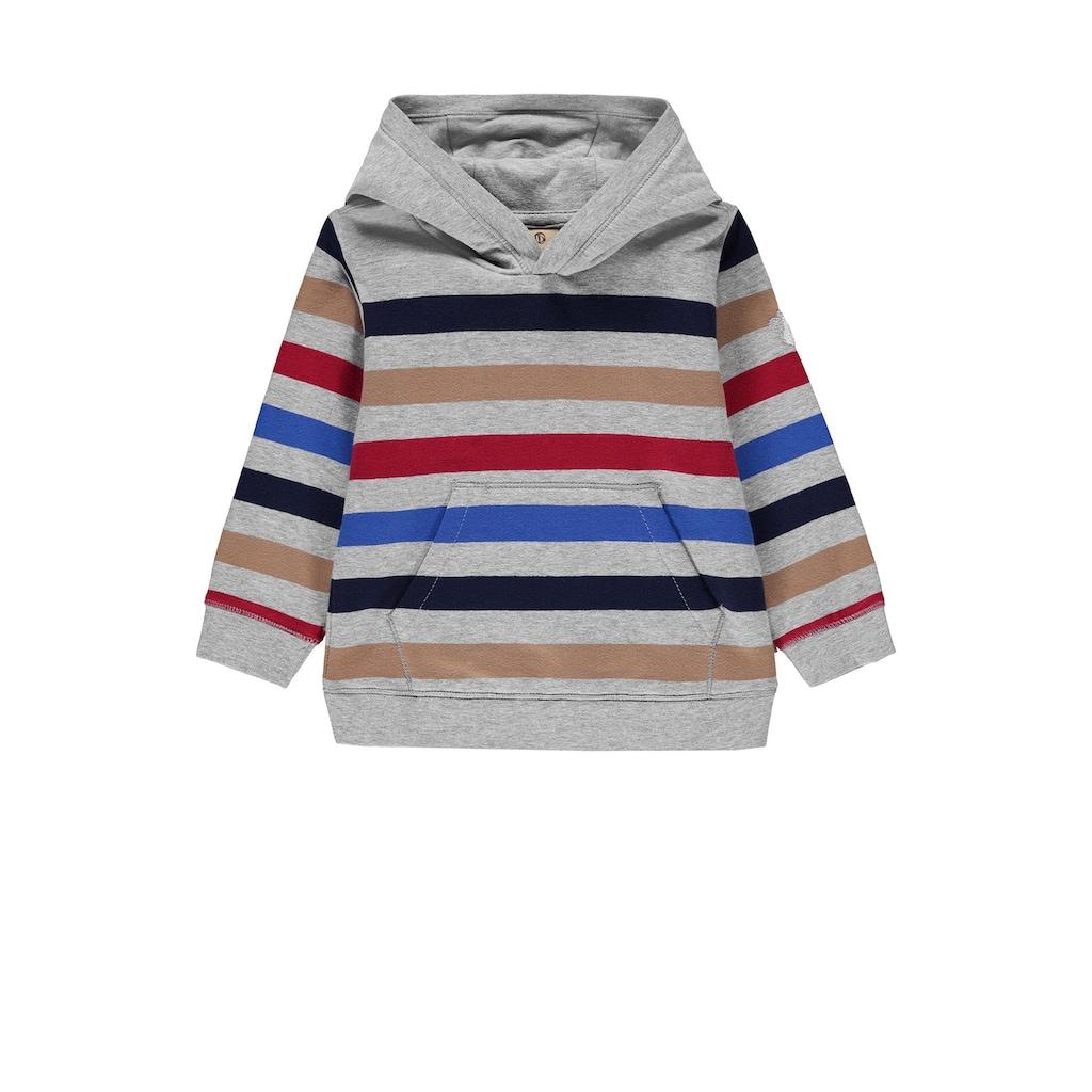 Bellybutton Sweatshirt, Sweatshirt gestreift mit Kapuze