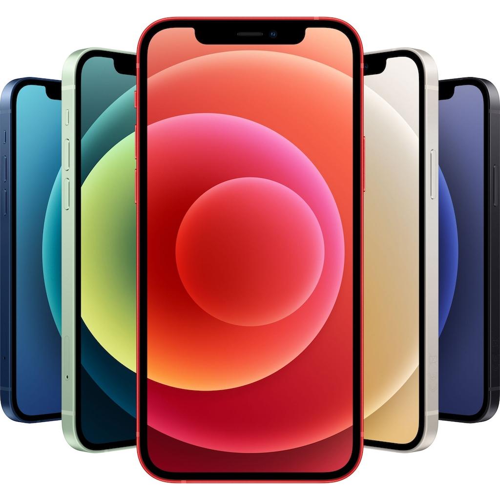 """Apple Smartphone »iPhone 12 - 128GB«, (15,5 cm/6,1 """", 128 GB, 12 MP Kamera), ohne Strom Adapter und Kopfhörer, kompatibel mit AirPods, AirPods Pro, Earpods Kopfhörer"""