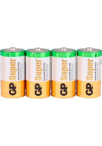GP Batteries Batterie »Super Alkaline C«, 1,5 V, (Set, 4 St.) kaufen