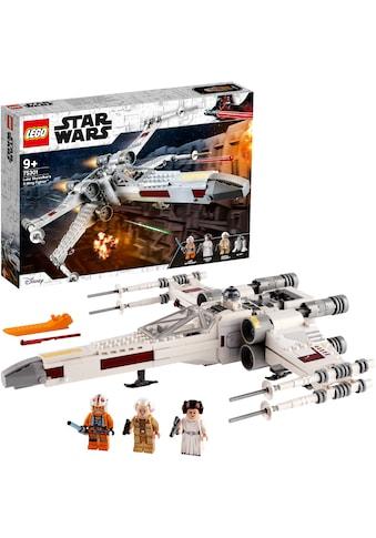 LEGO® Konstruktionsspielsteine »Luke Skywalkers X-Wing Fighter™ (75301), LEGO® Star... kaufen