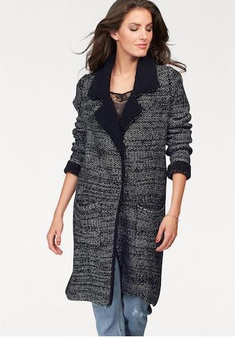 Aniston CASUAL Strickmantel mit Reverskragen kaufen