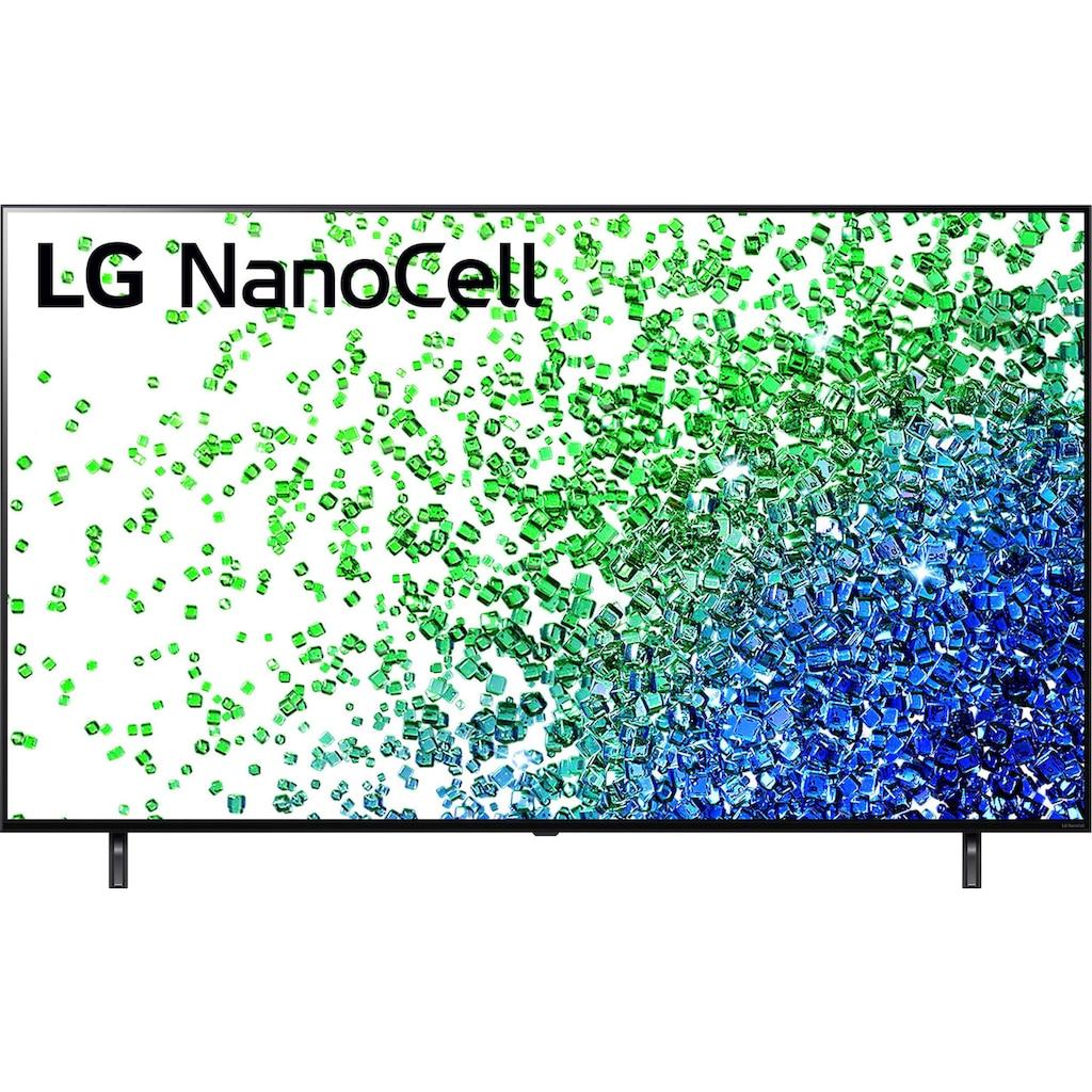 "LG LCD-LED Fernseher »65NANO809PA«, 164 cm/65 "", 4K Ultra HD, Smart-TV, Local Dimming-Sprachassistenten-HDR10 Pro"