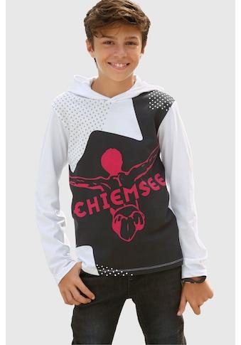 Chiemsee Langarmshirt, mit grossem Druck kaufen