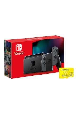 Nintendo Switch, Grau, »inklusive 256GB SD - Karte« kaufen