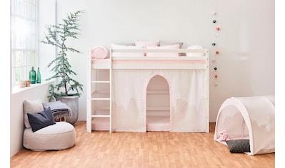 Hoppekids Hochbett »Winter Wonderland«, (Set), umbaubar in ein Einzelbett kaufen