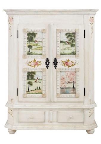 Premium collection by Home affaire Kommode »Sophia«, mit schönen Ornamenten und besonderen handgemalten Design auf den Türfronten kaufen