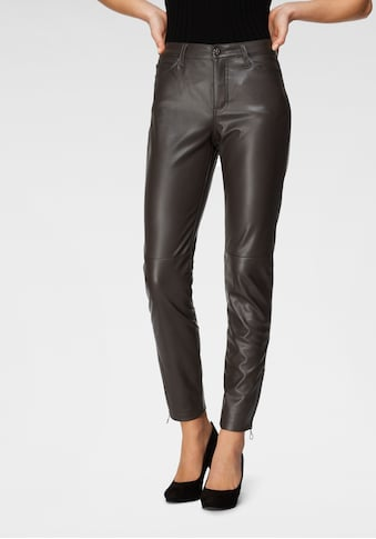 MAC 7/8 - Jeans »Slim leather zip« kaufen