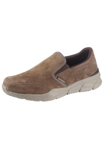Skechers Slipper »EQUALIZER 4.0«, mit seitlichem Stretcheinsatz kaufen