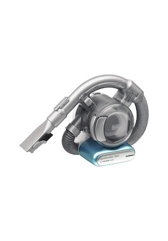 Black + Decker Akku-Handstaubsauger »Dustbuster Flexi Silberfarben, Blau« kaufen