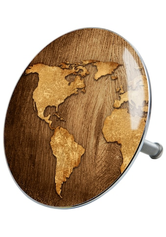 Sanilo Badewannenstöpsel »World Map«, Ø 7,2 cm kaufen