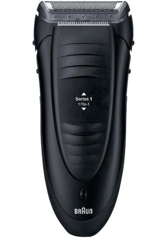 Braun Elektrorasierer »Series 1 170s-1«, Netzbetrieb kaufen