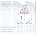 OXMO Kapuzensweatjacke »Malin«, Fleece Übergangsjacke mit Steppmuster