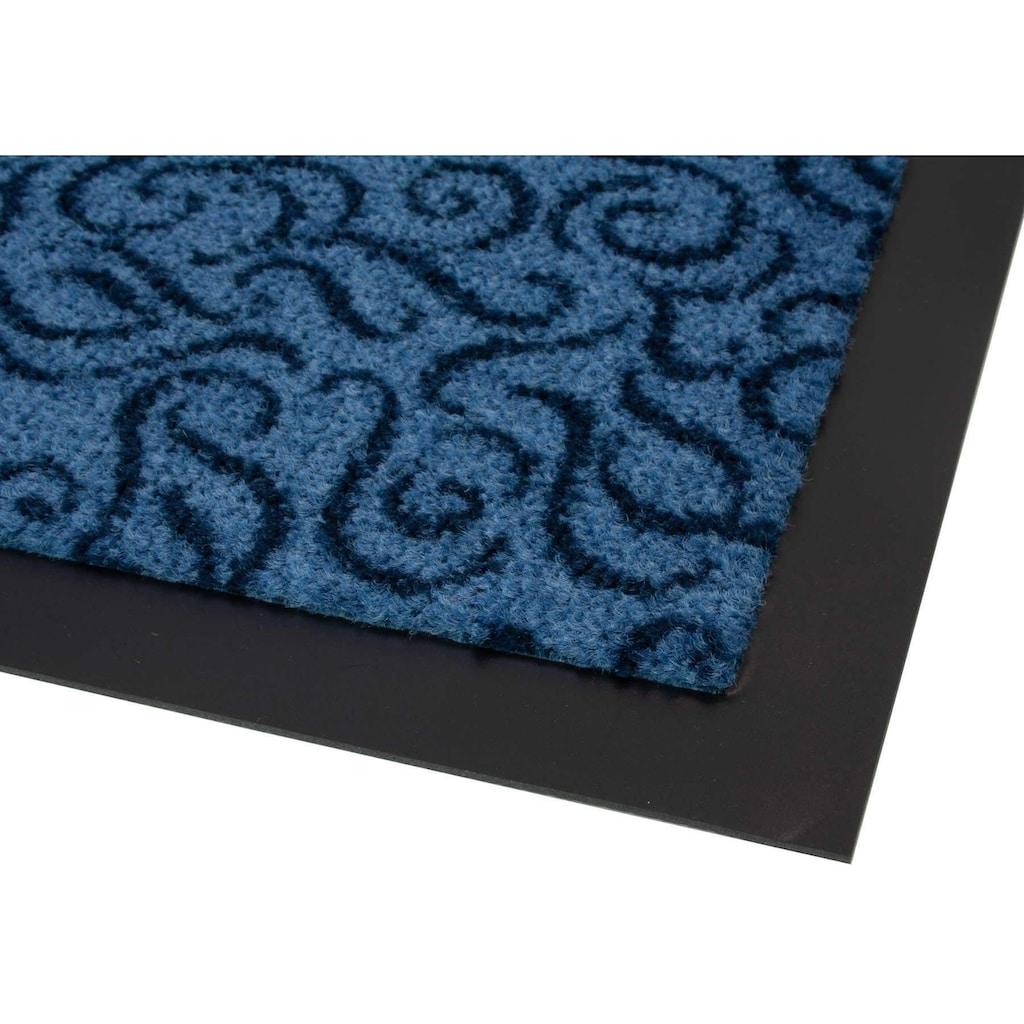 Primaflor-Ideen in Textil Fussmatte »BRASIL«, rechteckig, 6 mm Höhe, Fussabstreifer, Fussabtreter, Schmutzfangläufer, Schmutzfangmatte, Schmutzfangteppich, Schmutzmatte, Türmatte, Türvorleger, In- und Outdoor geeignet, waschbar