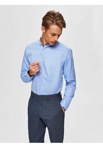 SELECTED HOMME Langarmhemd »SLIM MARK SHIRT« kaufen