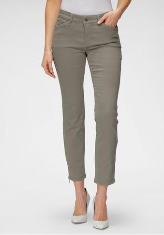 MAC 7/8-Jeans »Dream Chic«, Verkürzte Form mit Reissverschluss kaufen