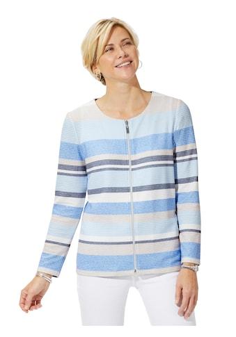 Casual Looks Shirtjacke in gepflegter Jacquard - Qualität kaufen