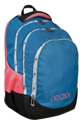 neoxx Schulrucksack »Fly, Splash«, Reflektionsnaht, aus recycelten PET-Flaschen kaufen