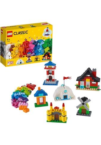"""LEGO® Konstruktionsspielsteine """"LEGO® Bausteine  -  bunte Häuser (11008), LEGO® Classic"""", (270 - tlg.) kaufen"""