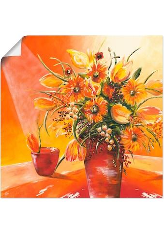Artland Wandbild »Blumenstrauss in Vase I« kaufen