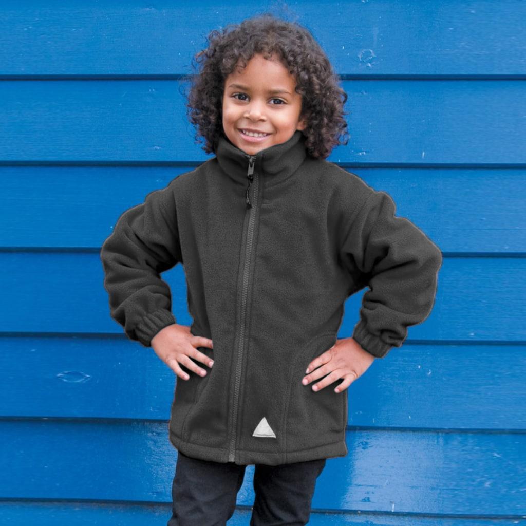 Result Fleecejacke »Kinder Active Fleece-Jacke Mit Reissverschluss«