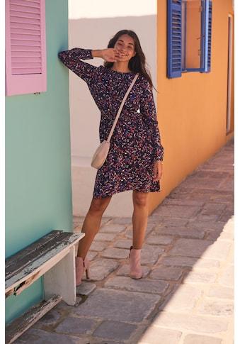 TOM TAILOR Blusenkleid, aus leicht strukturierter und wunderschön bedruckter Viskose-Qualität kaufen