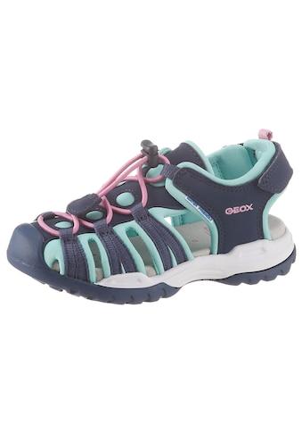 Geox Kids Sandale »Borealis Girl«, mit praktischem Schnellverschluss kaufen