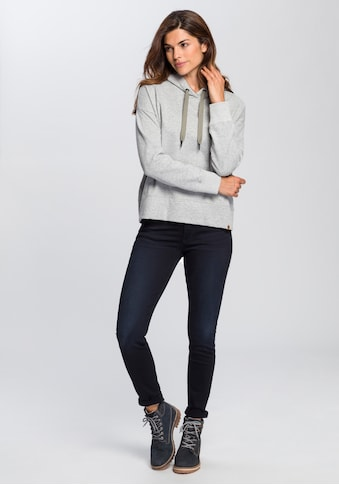 camel active Sweatshirt, Hoodie mit kleinem Druck am Saum kaufen