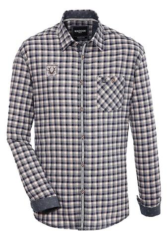 Krüger Buam Trachtenhemd mit Kontrastborten kaufen