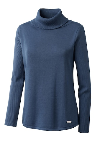 Casual Looks Pullover mit breitem Rollkragen kaufen