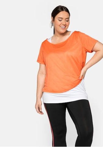 Sheego 2-in-1-Shirt, im Set, aus Funktionsmaterial kaufen