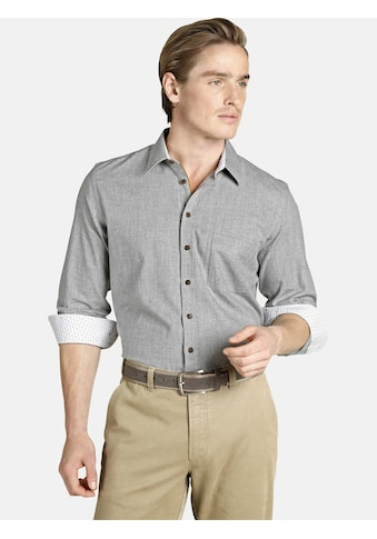 Charles Colby Langarmhemd »EARL EVAN«, mit Cord verziert kaufen