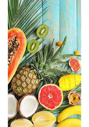 good morning Strandtuch »Fresh Fruits«, (1 St.), mit exotischen Früchten kaufen