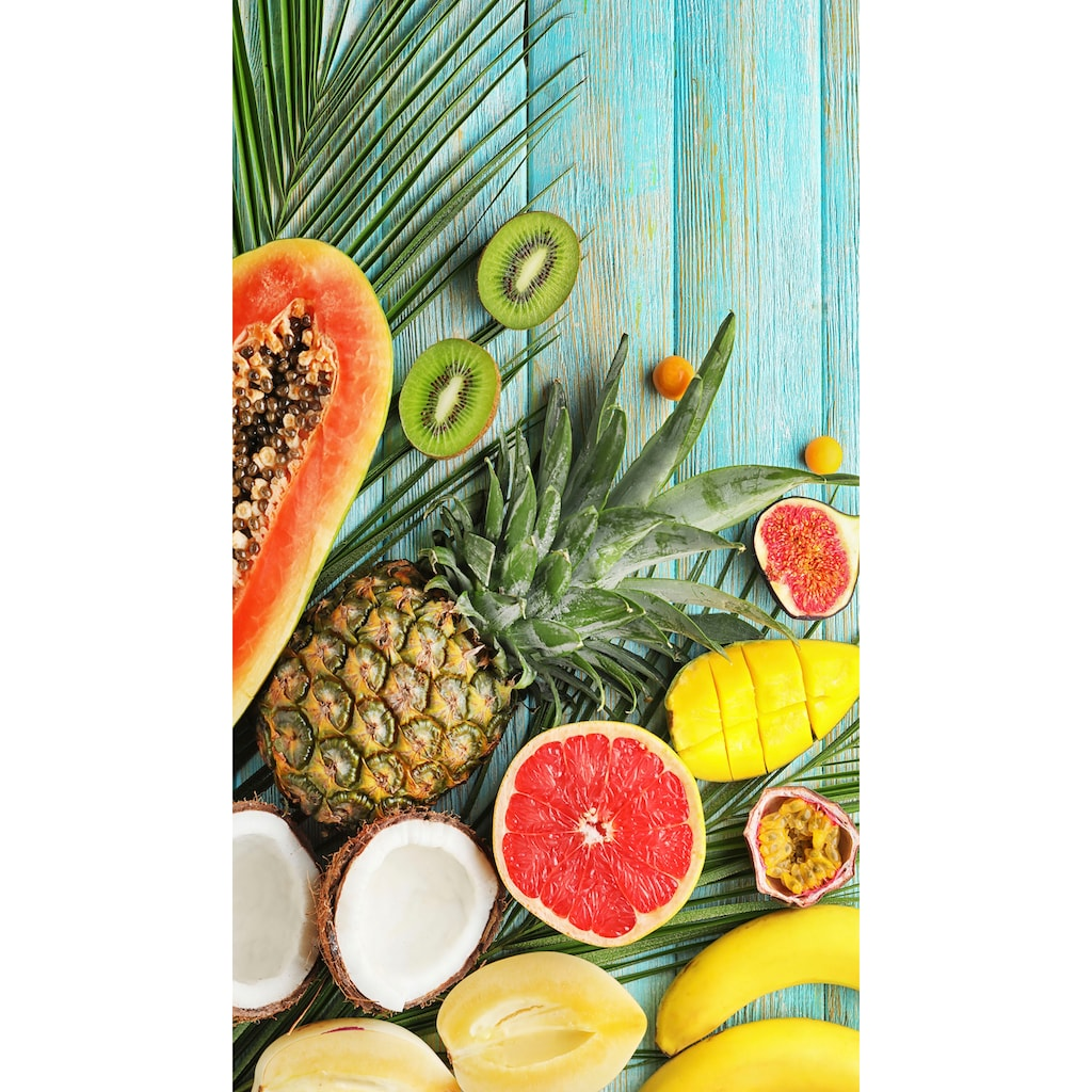 good morning Strandtuch »Fresh Fruits«, (1 St.), mit exotischen Früchten