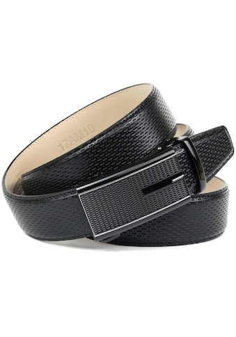 Anthoni Crown Ledergürtel, mit perforiertem Leder und eleganter eckiger... kaufen