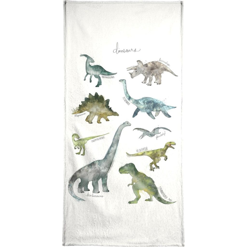 "Handtuch ""Dinosaurs"", Juniqe"