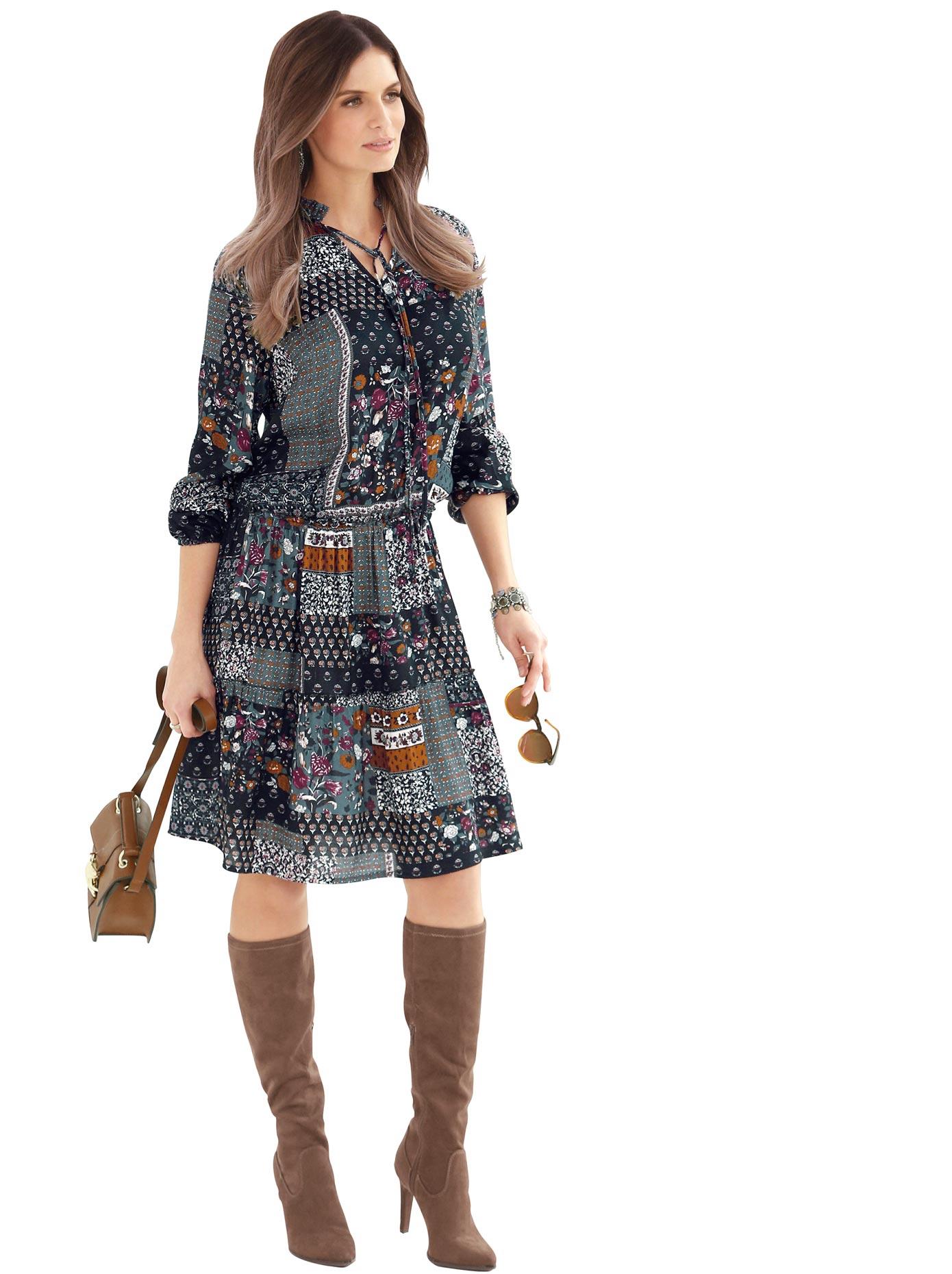 Image of Alessa W. Kleid aus reiner Viskose