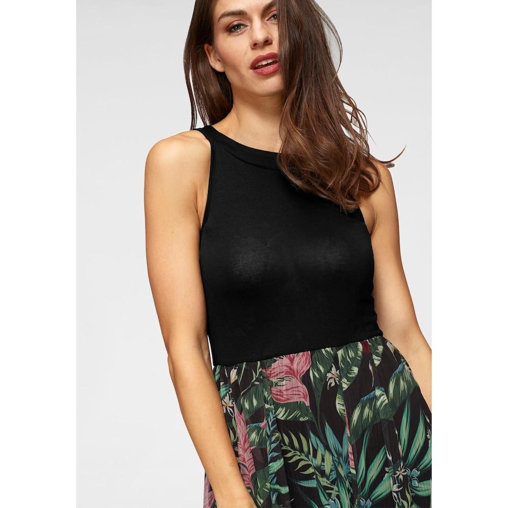 Aniston SELECTED Sommerkleid, mit buntem Rockteil