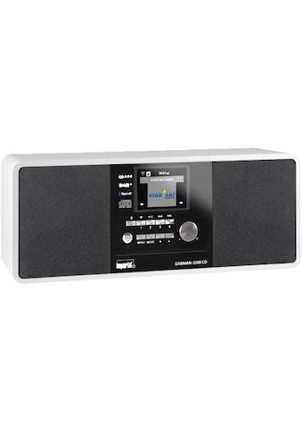 Internet Radio, Imperial, »Dabman i200 CD Weiss« kaufen