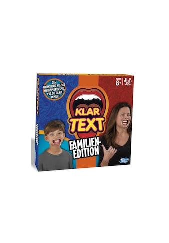 Hasbro Spiel »Klartext« kaufen